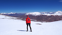 Chile 2017: looking northwest from Nevado de San Francisco (6018m)